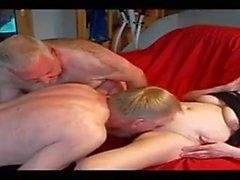 Drôle amateur - Beurettes Blondes Älteres Paar - Drei Szenen