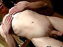 Twink video Pissing And Cumming In The Garage