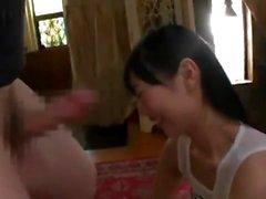 Sexy burlan de Asia adolescente en la webcam