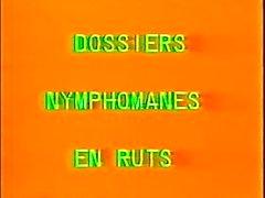 Classic Französisch : Dossiers Nymphomanes eigenes Trott