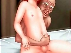 Hentai Red haired boy ve İhtiyar
