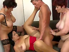 bbw gruppen-sex behaart