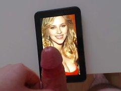 Cum Tribute # 2 Facial Para Scarlett Johansson