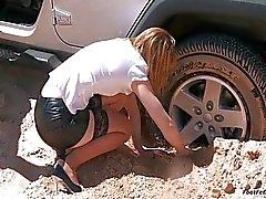 Carro furado Test Drive Problemas
