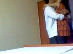 Kuumia Indian Opiskelu pariskunnan esileikin toimista