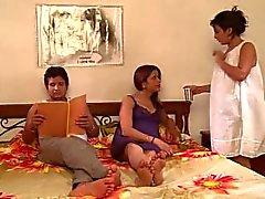 Saali Bani Gharwali Hot & Sexy Saali Beziehung mit Frau Schwester