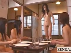 Peak into a nudist Japanese futanari dickgirl village