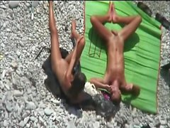 Hot Blowjob am Strand