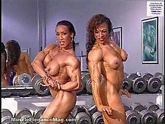 lesbisch brünett big tits
