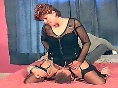 Lecken Sitting ausgereift Orgasmus