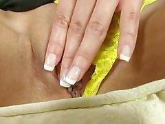 Fladen Reichweite - auf Finger ihre Pink Pussy
