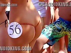 Latinas atractiva con las el mejor butt nunca en un concurso de bikini !