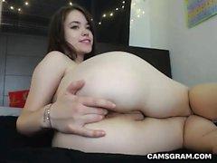 Masturbación maravillosa adolescente sabrosa
