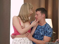 Randy and Connie sure know how to party. These teen lovers