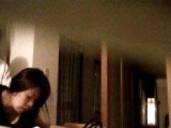 Japanska babe suger kuk