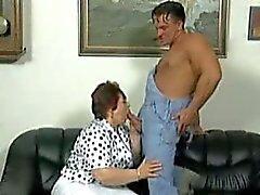 büyükanne BBW