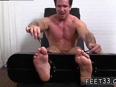 Film de pieds gais Trenton Ducati Bound & Tickle d