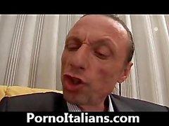 Panter oral seks İtalya'ndır - Milf porcella bir cazzone İspanyolca İtalyanca Maturo pompino