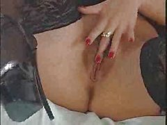 Veronica Zemanova Sexy Striptease