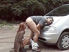 Некоторые из шлюха получения роговые езды на автомобиле а с драйверами член
