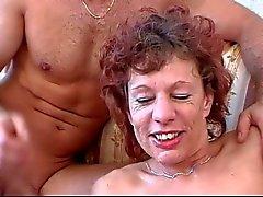 Netten Paar kleine flache Brüste