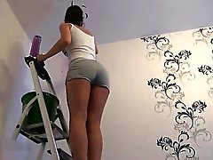 naughty-hotties - do over ladder cheating quickie - crea