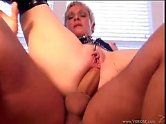 Bawdy hawt mother in pvc drilled hard