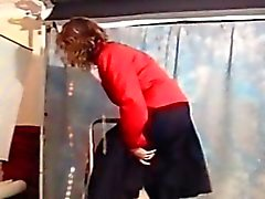 Ladder Trouble leading to Upskirt