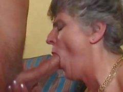 Englisch Großmutter Swinger-Party