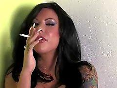Mason Moore Smoking Long Nails