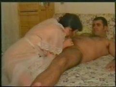 Haarig spanische Hausfrau Dusche
