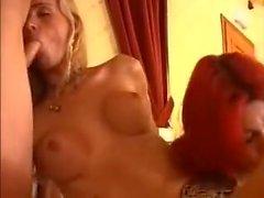 Italian Transwoman Threesome