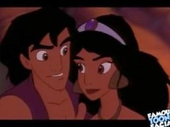 Disney Porno Alladin Kahretsin Jasmine