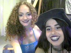ébano incrível striptease adolescente na webcam
