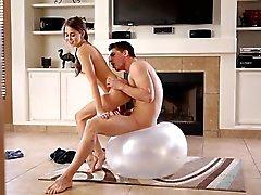 Красивое Чертов - Too сексуальный девушка фитнес
