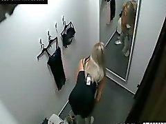 Voyeur Mooi Blond Fitting Lingerie