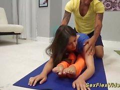флекси секс-тренировки с симпатичной куклой Люси