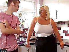 Agedlove fette mündig schlug harten