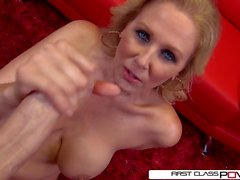 Julia Ann is one well seasoned dick sucking pro