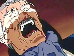 Bigote miel consiguiendo homosexuales follada por a un anciano