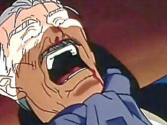 Hentai Gay miel de faire baiser par un homme âgé