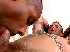 Hot twink gets his hard cock sucked by horny homosexual