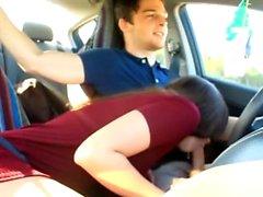 Amateur-Sex-Video von Bad ficken und Outdoor Masturbation