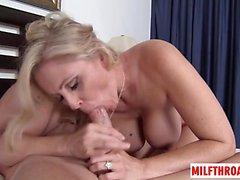 Big Tits Milf Cuckold mit Cumshot