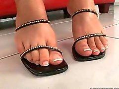 Solette e dei piedi Compilazione sexy