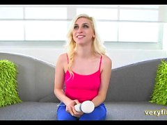 Blonde Teen Amateur Casting Couch