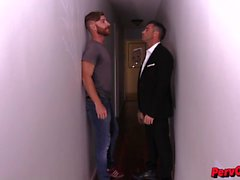 Lance Hart Collects on Sebastian Keys GAY BALLBUSTING