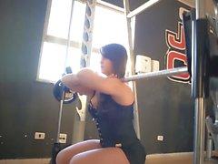 evet!!! Fitness sıcak ASS sıcak CAMELTOE 63