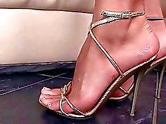 Las niñas y los Sexuales los pies Gorgeous Compilación de