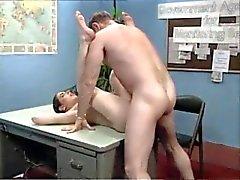 Alten Chef bei Bürojob einen geblasen